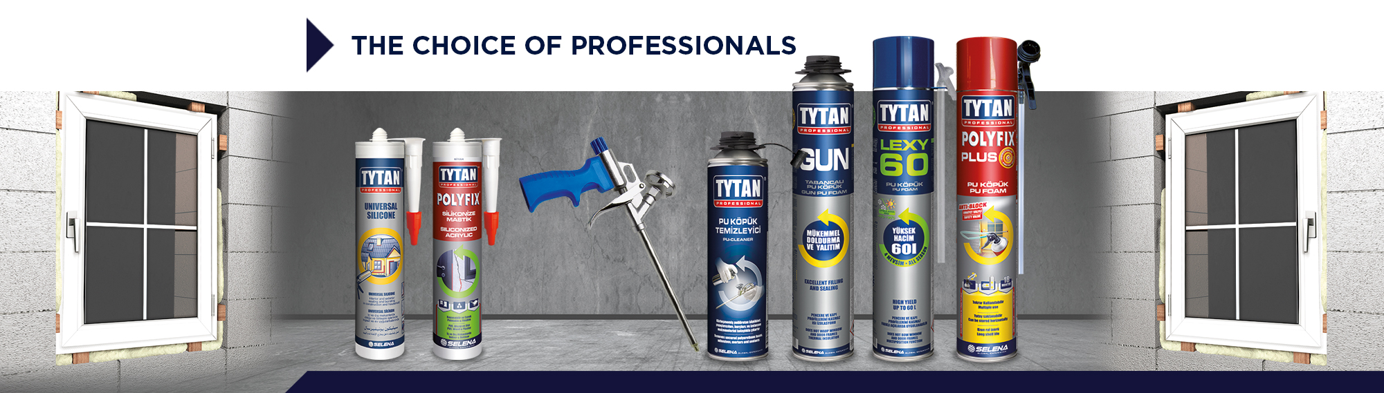Tytan Professional: the choice of professionals